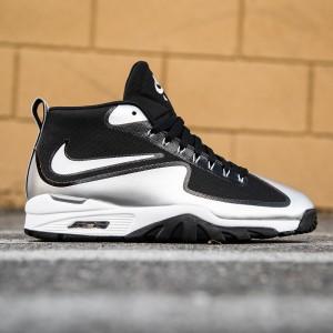 Nike Men Air Untouchable Vapor (black / white / metallic silver)