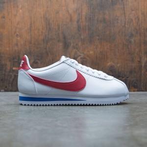 Nike Women Classic Cortez Leather (white / varsity red-varsity royal)