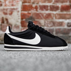 Nike Men Classic Cortez Nylon (black / white)