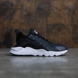 Nike Women Air Huarache Run Ultra (black / black-black-white)