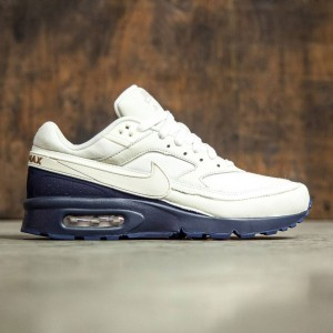 Nike Men Air Max Bw Premium (sail / sail-midnight navy-ale brown)