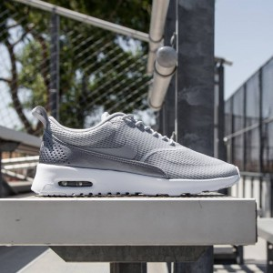 Nike Women Air Max Thea Textile  (wolf grey / white / mtlc cool grey / wolf grey)