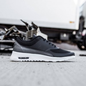 Nike Women Air Max Thea Textile (black/white/mtlc hematite/black)