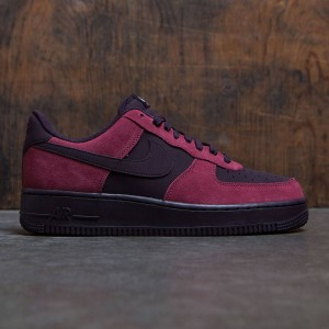 Nike Men Air Force 1 (port / port wine-white-black)