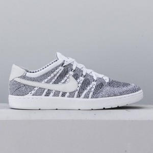 Nike Men Tennis Classic Ultra Flyknit Shoe (white / white-black)