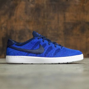 Nike Men Tennis Classic Ultra Flyknit Shoe (college navy / college navy-racer blue)