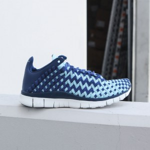 Nike Women Women'S Nike Free Inneva Woven  (coastal blue / copa-summit white-black)