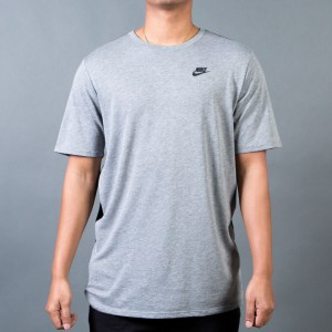 Nike Men M Nsw Tee Tb Drptl Bnd Mesh (carbon heather / black / black)