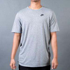 Nike Men M Nsw Tee Tb Drptl Bnd Mesh (carbon heather / black / black)