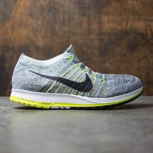 Nike Men Air Zoom Flyknit Streak 6 Racing (wolf grey / black-anthracite-pure platinum)