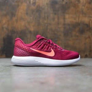Nike Women Lunarglide 8 Running (red / noble red / bright mango-bright crimson)