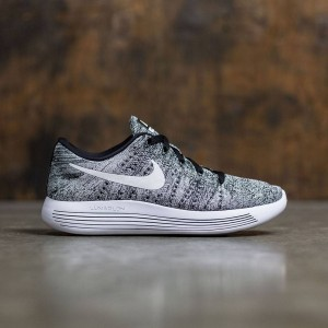 Nike Women Lunarepic Low Flyknit Running (black / white)