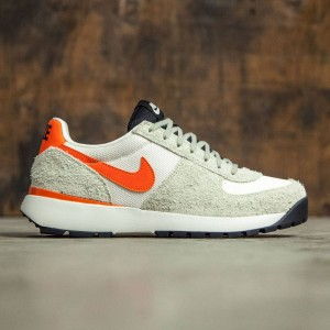Nike Men Men'S Nike Lavadome Ultra  (stone grey / safety orange-sail-light bone)