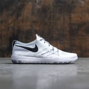Nike Women Women'S Nike Free Focus Flyknit Training (white / black-wolf grey)