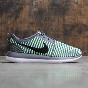 Nike Men Roshe Two Flyknit (dark grey / black-gamma blue-volt)