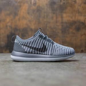 Nike Women Roshe Two Flyknit (dark grey / dark grey-pure platinum)