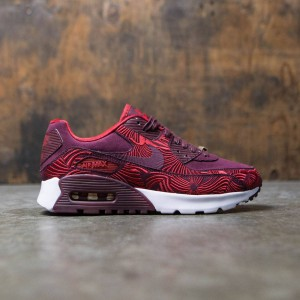 Nike Women W Air Max 90 Ultra Lotc Qs Shanghai (maroon  /  night maroon / gym red / night maroon)