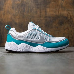 Nike Men Air Zoom Spiridon Qs (white / silver-turbo green-laser orange)