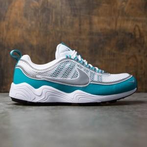 Nike Men Air Zoom Spiridon Qs (white / silver-turbo green-laser orange)