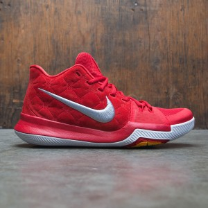 Nike Men Kyrie 3 (red / university red-wolf grey)