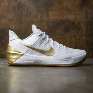 Nike Men Kobe A. D. (white / metallic gold-metallic gold)