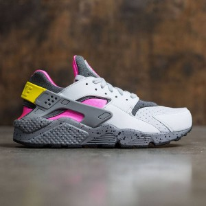 Nike Men Air Huarache Run Se (pure platinum / pink blast-pink blast)