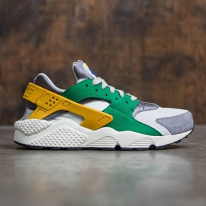 Nike Men Air Huarache Run Se (pine green / gold leaf-light bone)