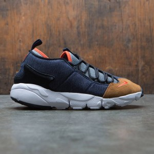 Nike Men Air Footscape Nm (obsidian / team orange-anthracite)