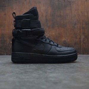 Nike Women Sf Air Force 1 (black / black-black)