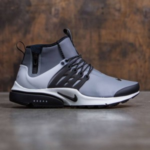 Nike Men Air Presto Utility Mid-Top (cool grey / black-off white-volt)