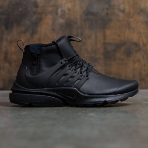 Nike Men Air Presto Utility Mid-Top (black / black-volt-dark grey)