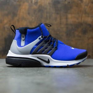 Nike Men Air Presto Utility Mid-Top (paramount blue / black-flt silver)