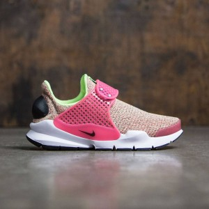 Nike Women Sock Dart Se (ghost green / black-hot punch-white)