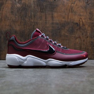 Nike Men Air Zoom Spiridon (team red / black-dark grey-bright crimson)