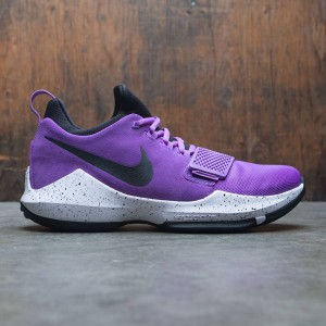 Nike Men Pg 1 (bright violet / black-white-total orange)