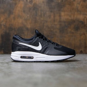 Nike Big Kids Nike Air Max Zero Essential (Gs) (black / white-dark grey)