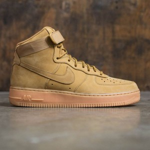 Nike Men Air Force 1 High '07 Lv8 Wb (flax / flax-outdoor green-gum light brown)