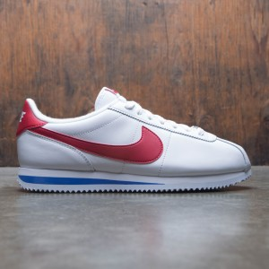 Nike Men Cortez Basic Leather Og (white / varsity red-varsity royal)