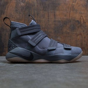 Nike Men Lebron Soldier Xi Sfg (dark grey / black-circuit orange-white)
