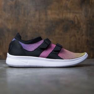 Nike Men Air Sock Racer Flyknit Premium (yellow / white-racer pink-black)