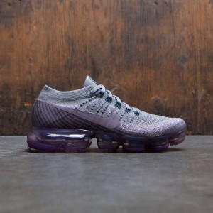 Nike Women Nikelab Air Vapormax Flyknit Running (college navy / taupe grey-tea berry)