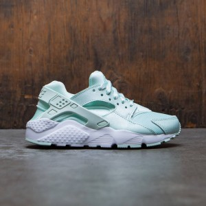 Nike Big Kids Girls' Nike Huarache Run Se (Gs) (green / igloo / igloo-white)