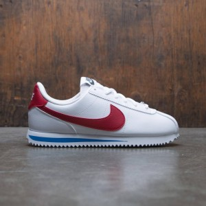 Nike Big Kids Cortez Basic Sl (white / varsity red-varsity royal-black)