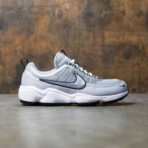 Nike Women Air Zoom Spiridon (wolf grey / metallic silver-black)