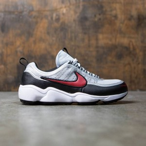 Nike Women Air Zoom Spiridon (pure platinum / desert red-white-black)