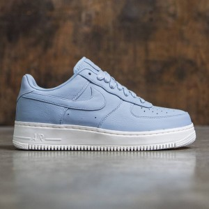 Nike Men Nikelab Air Force 1 Low (blue grey / blue grey-blue grey-sail)