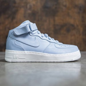 NikeLab Men Air Force 1 Mid (blue grey / blue grey-blue grey-sail)