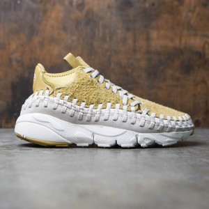 Nike Men Air Footscape Woven Chukka Qs (brown / flt gold / lt orewood brn-summit white)