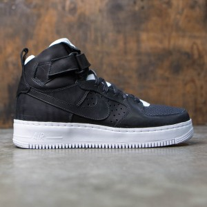 NikeLab Men Air Force 1 Hi Cmft Tc Sp (black / black-white)
