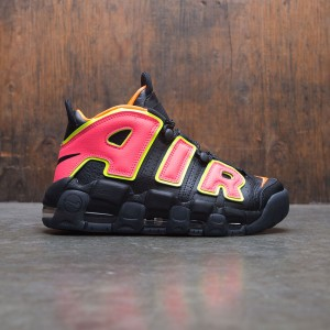 Nike Women Air More Uptempo (black / hot punch-volt-total orange)